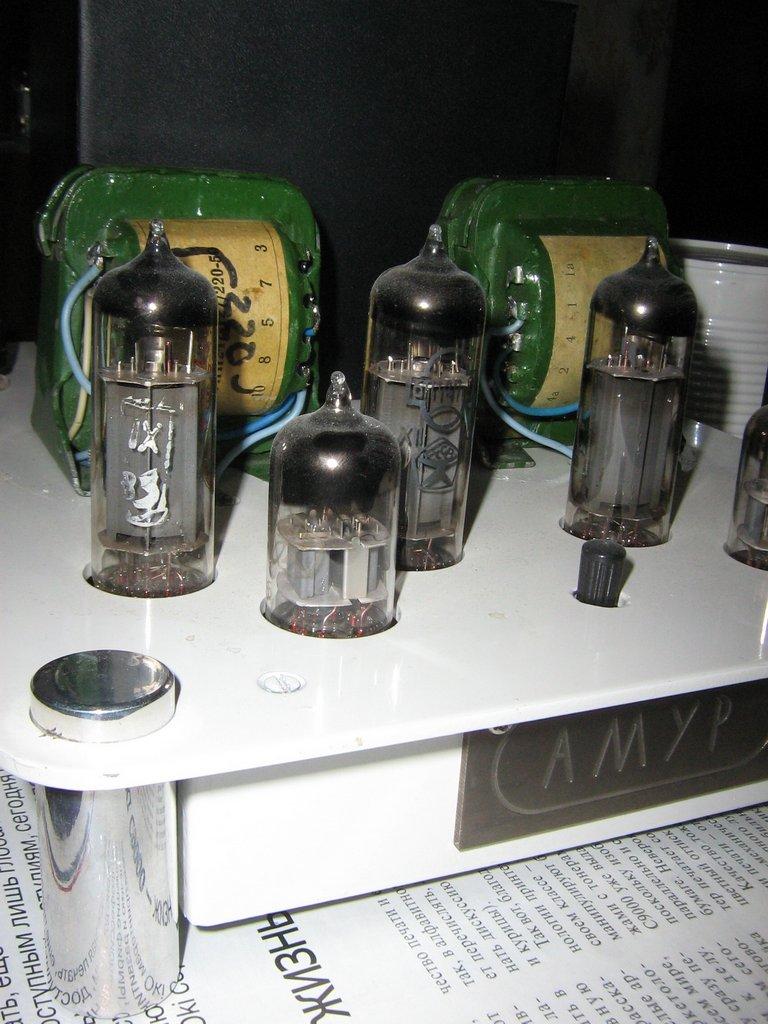 пошаговая инструкция по созданию лампового усилителя